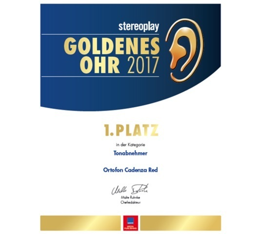 ortofon stereoplay award